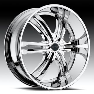 Chrome Wheel Tire Package Rims 6 Lug Vehicles Chevy Ford GMC