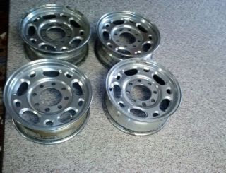 Lug Chevy GMC Duramax Aluminume Wheels Rims