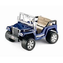 New Fisher Price Jeep Rubicon Power Wheels Ride On