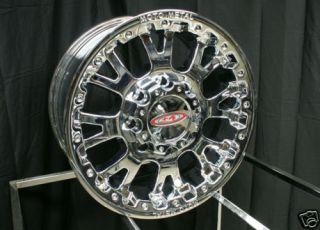 17 x 9 inch Chrome Moto Metal MO 956 MO956 Wheels Rims