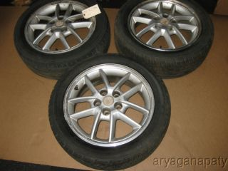 05 mitsubishi eclipse OEM wheels rims with tires STOCK factory 16 V6