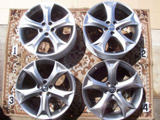 20 Wheels Rims Stock RAV4 Sienna Lexus RX350 RX400H Wheels 20