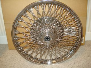 Harley Davidson FXR FXD XL 21x2 15 120 Twisted Spoke Front Wheel