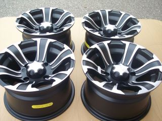12 Arctic Cat SS312 ATV Aluminum Wheels New Set 4 Lifetime Warranty