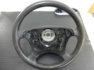 dap 00 W208 Mercedes CLK320 CLK430 Driver Steering Wheel Black 3