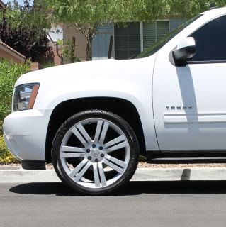 24 Chevy Wheels Tires Silverado Tahoe Sierra Avalanche 22 20