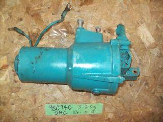 Omc Stringer 800 Selectrim Tilt Trim Pump Motor 980940 225