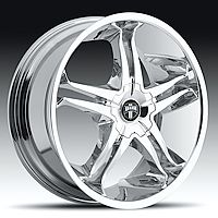 20 Dub Stallion Chrome Wheels Set 20 inch 4 Rims