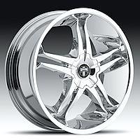 20 Dub Stallion Chrome Wheels Set 20 inch 4 Rims