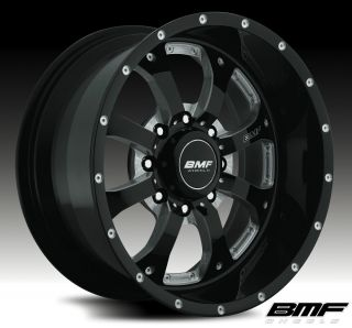 20x9 8x180 Death Metal Black Wheels Fits New Chevy HD 2500 3500