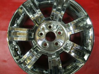 Cadillac DTS 18 2008 Wheel Rim Factory Chrome 4622 Used