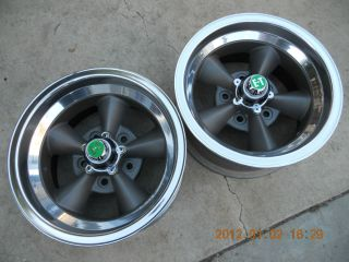Racing Torq Thrust Mag Wheels Gasser Hotrod Mags Ratrod