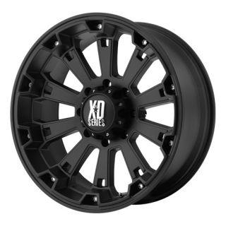 17x9 KMC XD Misfit Black Wheel Rim s 6x135 6 135 17 9
