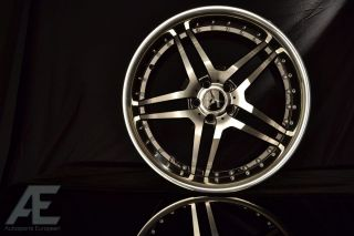 Mercedes C230 C240 C250 C280 Wheels Rims and Tires RW2 Black