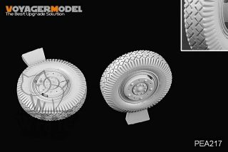 Voyager 1 35 WWII German SD Kfz 234 Road Wheels Pattern 5 for Dragon