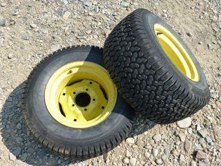 John Deere 212 Tractor Carlisle 23x10 50 12 Rear Tires Rims