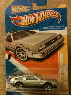 Hot Wheels Back to The Future Time Machine Error
