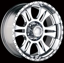 CPP ion 195 Wheels Rims 18x9 Fits Ford F250 F350 Super Duty Power