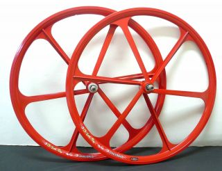 Fixed Gear Mag Wheelset 700c Rims Front Rear Fixie Bike Single Speed