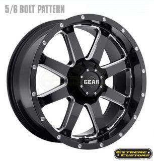 726 Big Block Wheels Rims Nitto 255 60R18 Terra Grappler Tires
