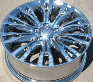 Factory Chrysler 200 Limited 300M Chrome Wheels Rims Set of 4
