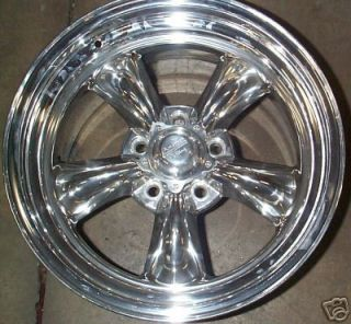 One 55 56 57 Chevy Are Torq Thrust 2 1 17x8 Polished
