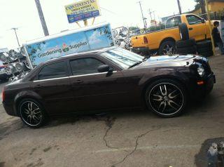 22 Black Rims Tires Chrysler 300 Dodge Charger Magnum Challenger 265