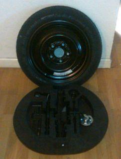 2011 OEM Honda Civic Spare Tire Donut Tire Wheel Rim Jack KIT NEW L K