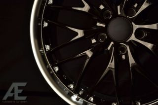 18 inch Nissan 350Z 370Z Altima Wheels Rims GT1 Gloss Black