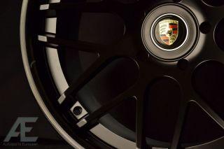 Panamera 4S Turbo s Wheels Rims and Tires Magic Matte Black