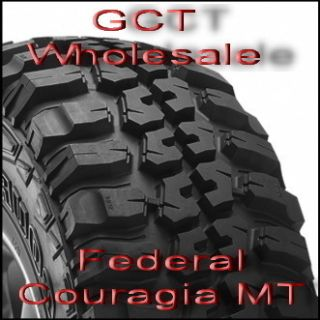 LT285 75R16 8P Federal Couragia MT 1 Mud Tire 46HE63FA