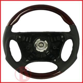 Mercedes W220 s Class Sport Steering Wheel Wood S320