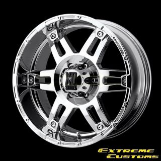 x8 5 XD Series XD797 Spy Chrome 5 6 8 Lugs One Single Wheel Rim