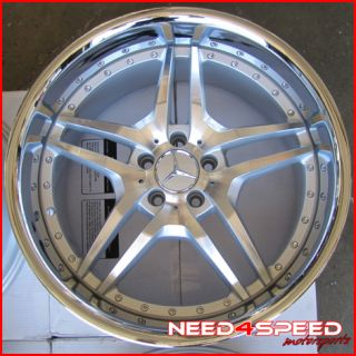 W221 S400 S550 S600 s Class Roderick RW2 Staggered Wheels Rims