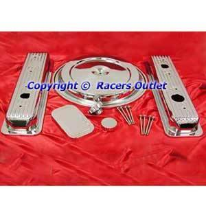 Chrome Engine Dress Up Kit SB Chevy 305 350 1988 1992 Trucks Motor SBC