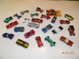 Set of 24 The 2nd Year 1969 Redlines Hot Wheels Originals Loose
