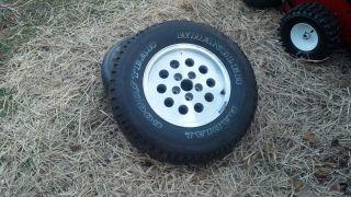 Wrangler at s 225 75R15 Tire on Jeep Cherokee Rim Wheel