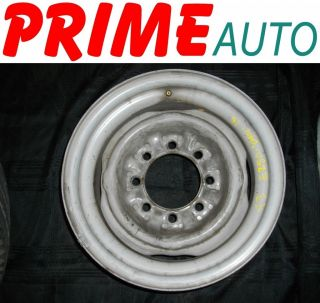 1993 93 Ford E250 Van Wheel Rim Steel 16x7