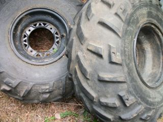 Polaris Sportsman 500 4x4 Rear Rim Wheel Tires 25x11 10 ATV