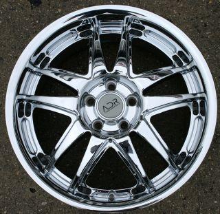 Adr Decadence 18 Chrome Rims Wheels Benz S320 S420 18 x 8 0 5H 35