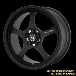 Motegi MR238 Traklite 1 0 Matte Black 4 5 Lugs Single Wheel Rim