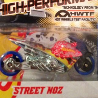 VHTF 2012 Team Hot Wheels HWTF Street Noz Motorcycle