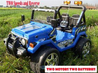 Wrangler Kids Ride On Car Battery Power Remote Control Wheels R C