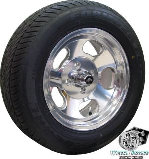 RACING ANSEN SPRINT SLOTTED MAG WHEELS TIRES DATSUN 240Z 1970 1971