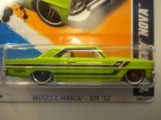 Chevy Nova Sublime  Exclusive VHTF Muscle Mania 106 247