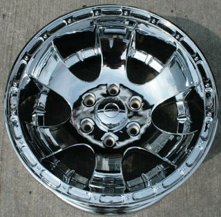 Kaotik NT1 18 Chrome Rims Wheels GMC Yukon
