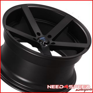 E90 325 328 330 335 Sedan Rohana RC22 Concave Black Wheels Rims