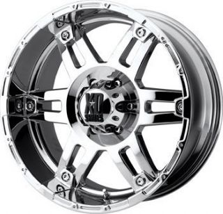 XD797 Spy Chrome 20x8 5 Offroad Truck Rims Wheels Nitto Tires