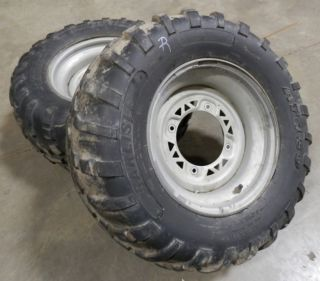 Polaris Magnum 330 Rear Wheels Tires Xplorer Xpedition Sportsman ATV