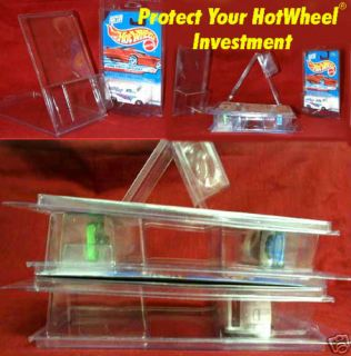 Hot Wheels 250 Protectors Stackable Clam Shell Design